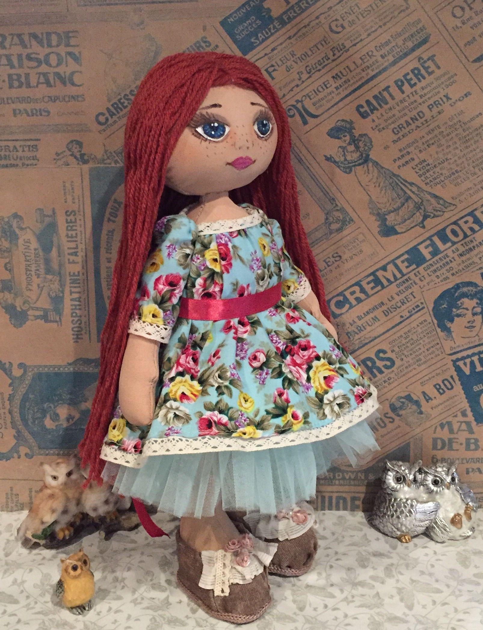 подарокдевушке кукла интерьернаякукла