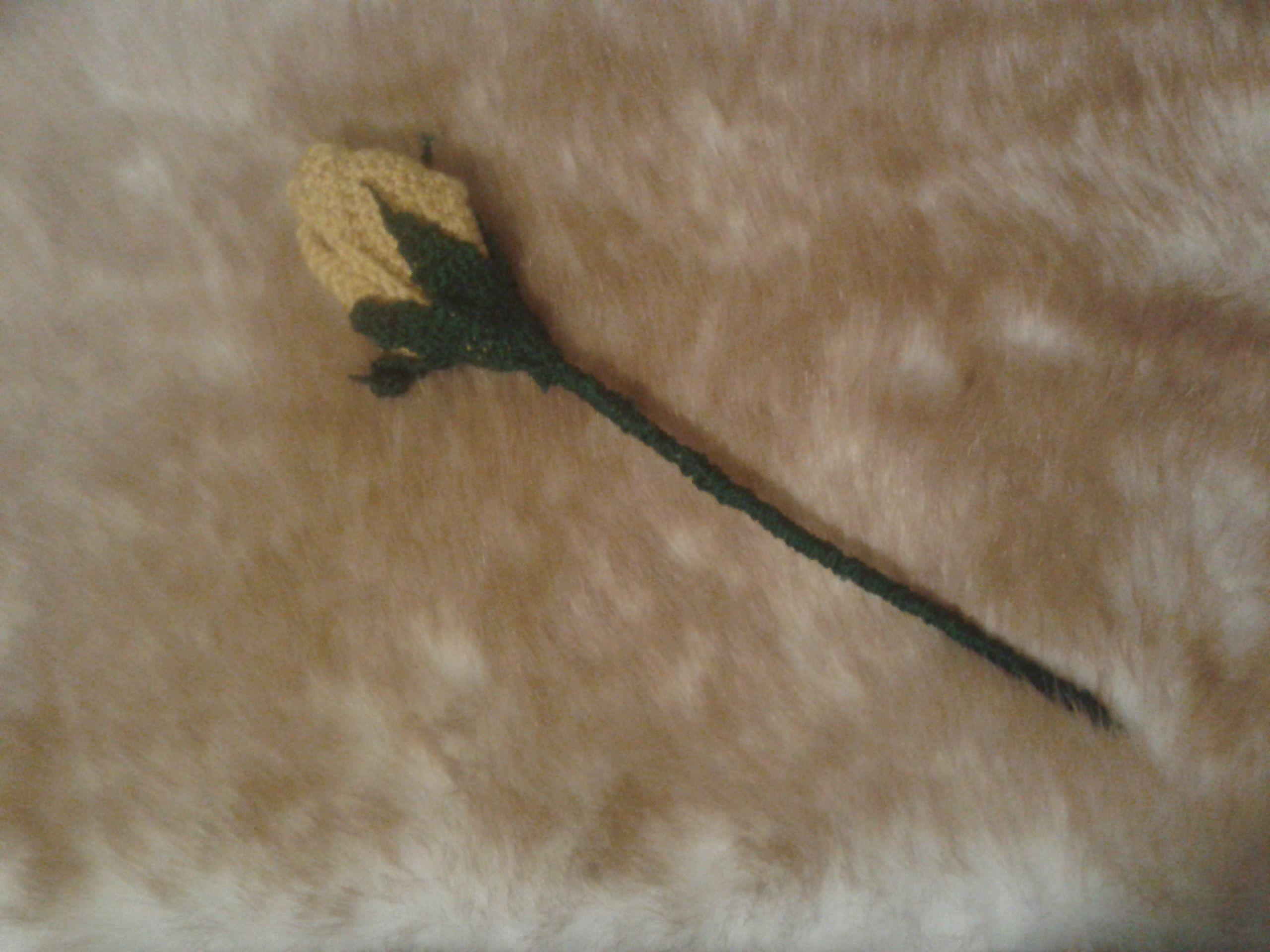 бутон искусственный цветок роза розы