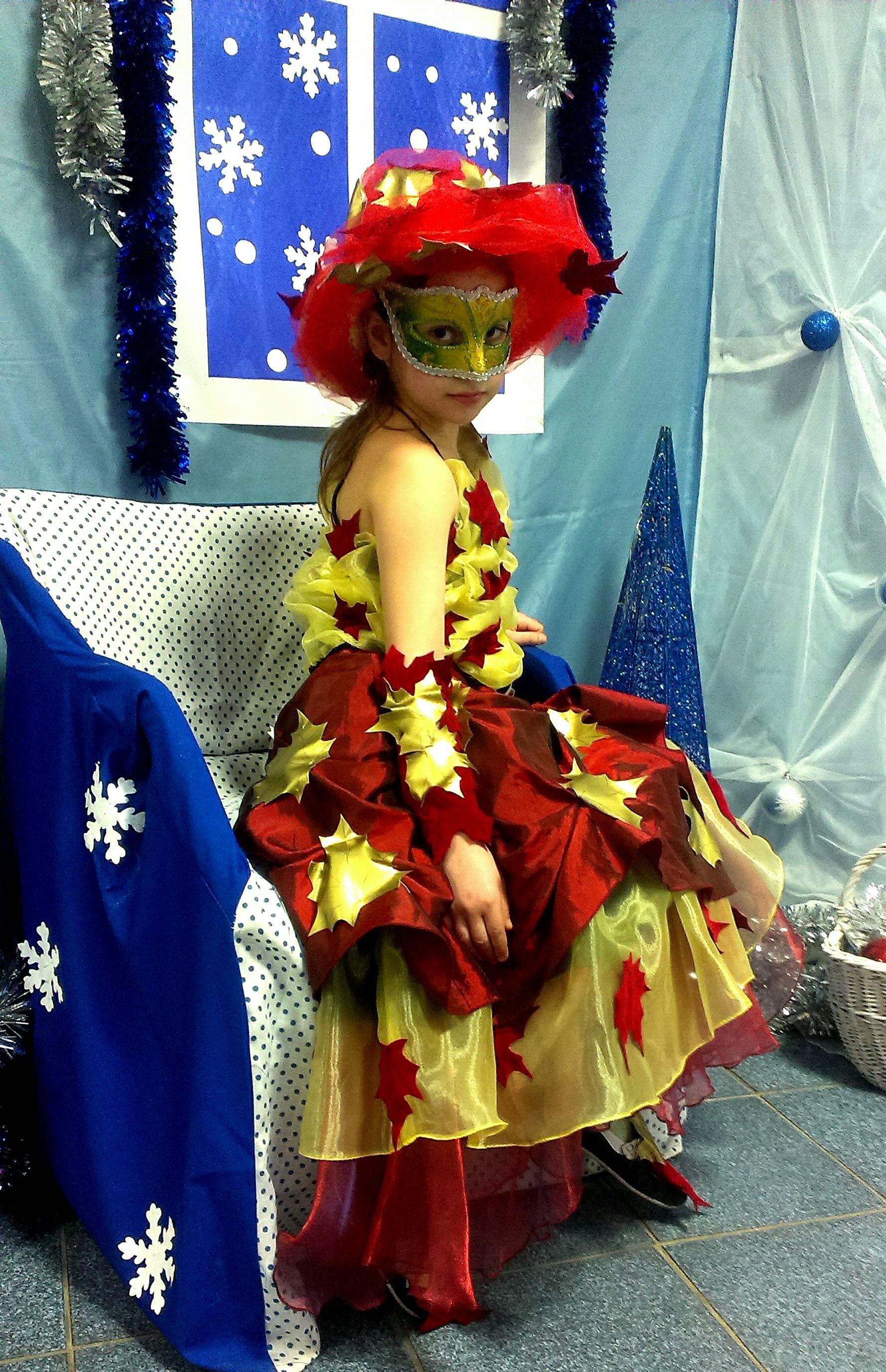 радость красивая костюм осень выступление новыйгод праздник платье детям ребенку одежда нарядное карнавал шитье девочке