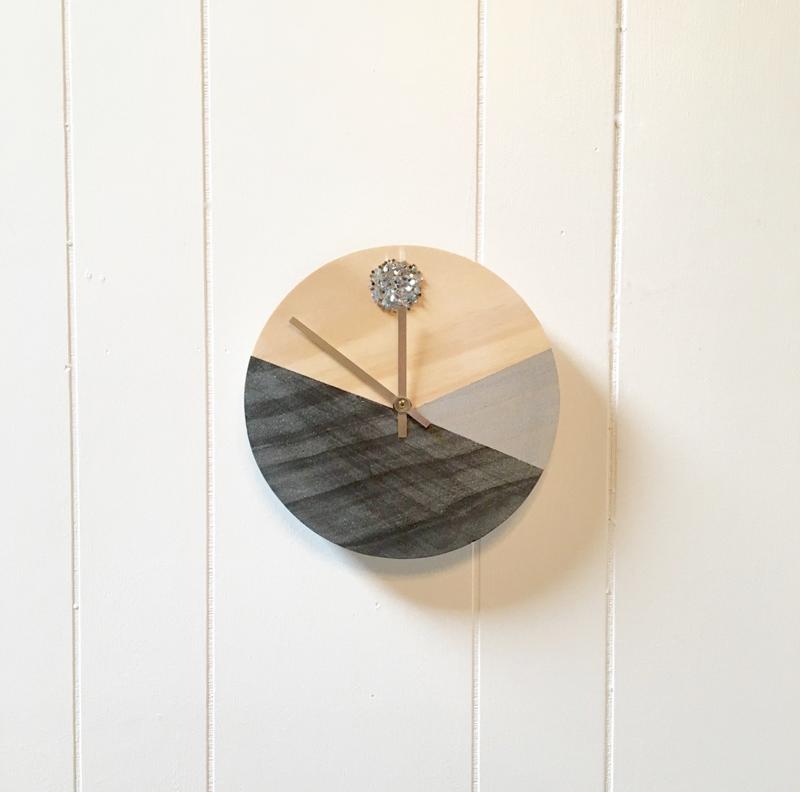 часы интерьер дом мастеркласс
