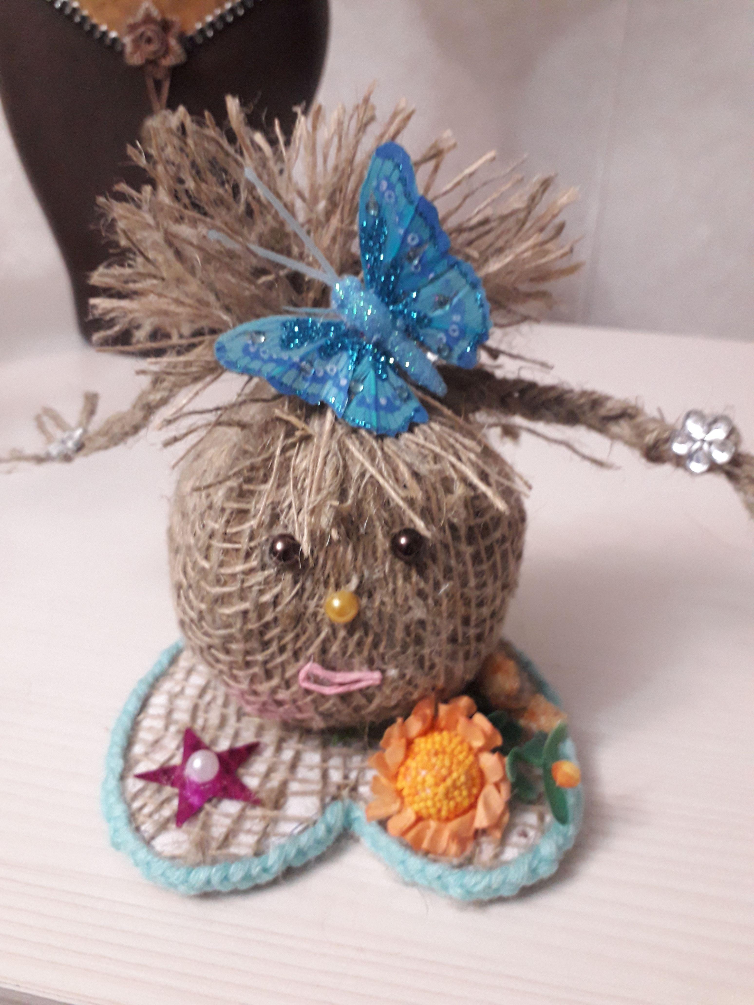 ручнаяработа игрушки подарок кукла домовушки новыйгод сувенир обереги игрушка куклы