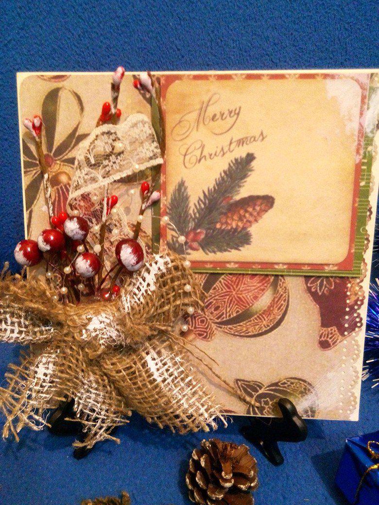 скрапбукинг подарок открытка ручнаяработа