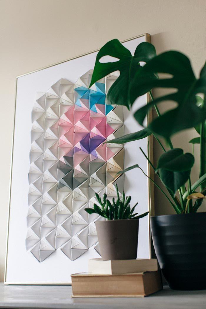 оригами современноеискусство необычное