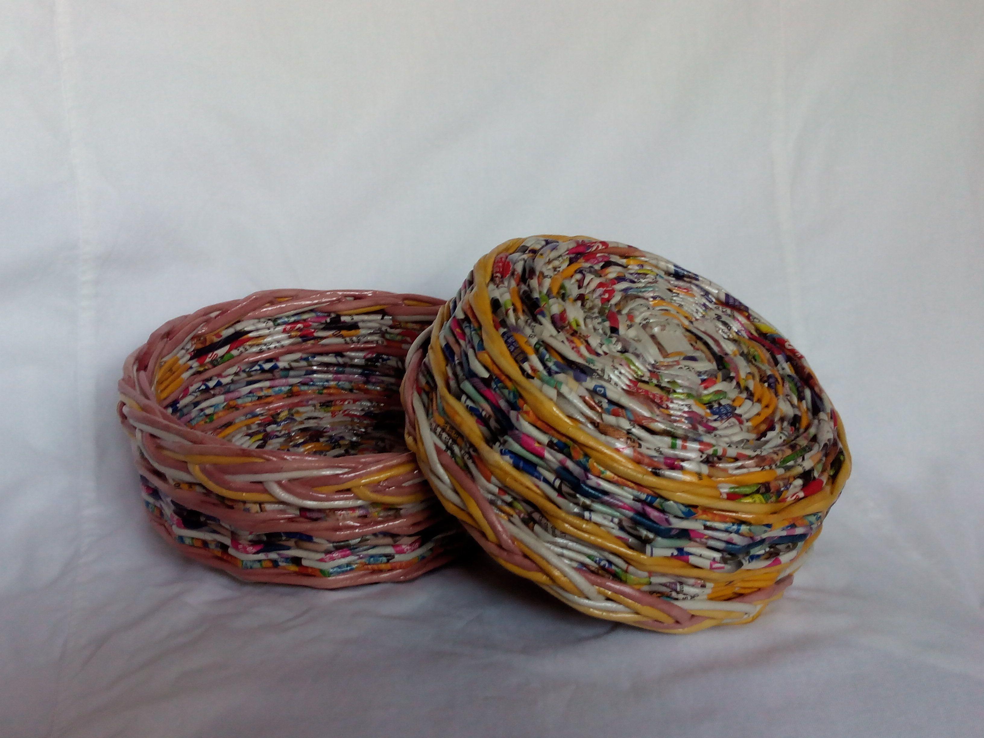 посуда дома интерьер из кухня для трубочек декоративная и подарки плетеные бумажные лоза утварь блюда газетных тарелки газетная оригинальные кухонная изделия
