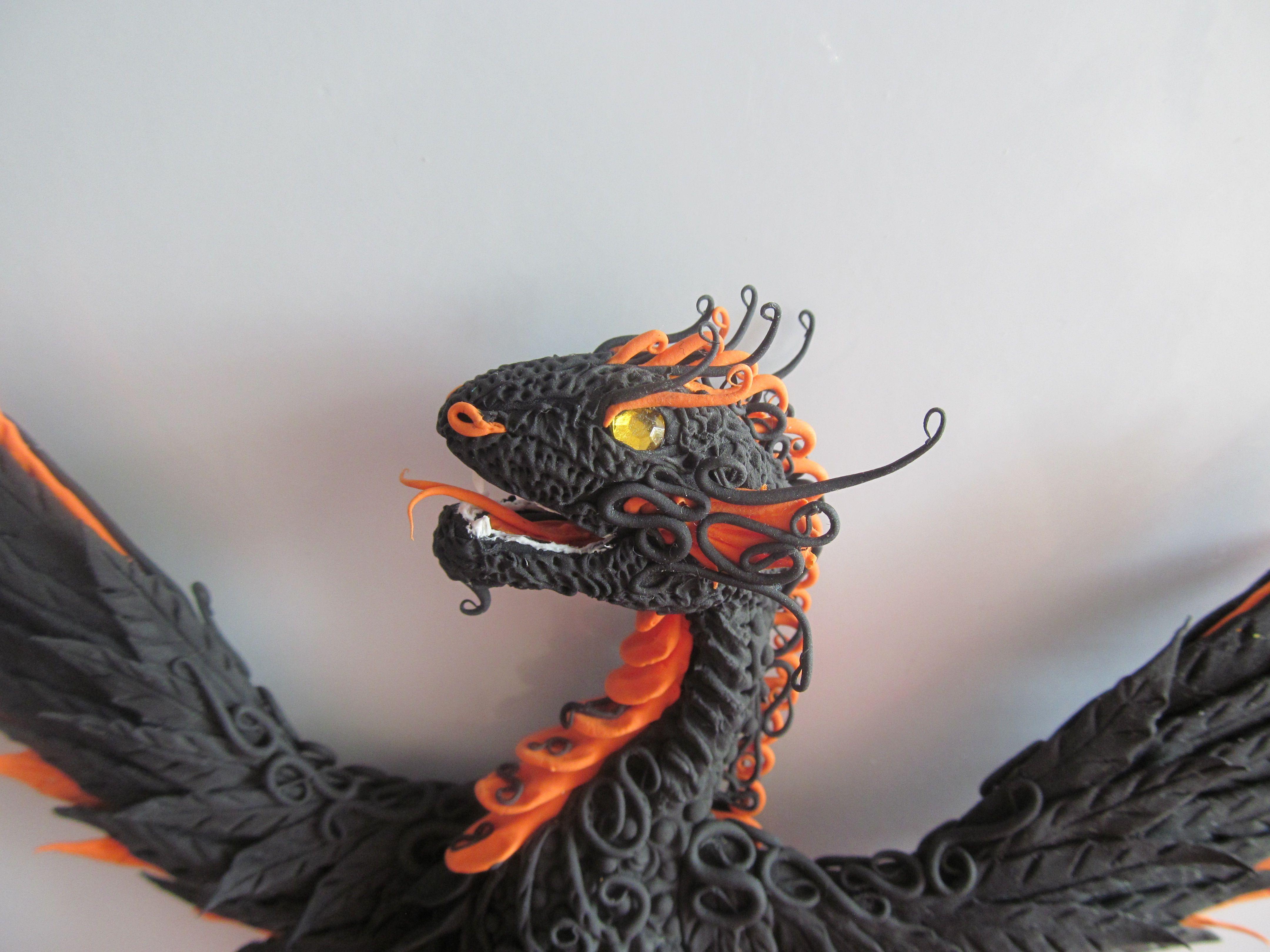 кетцалькоатль змей ролевая пернатый холодильник дракон украшение магнит игра на колье