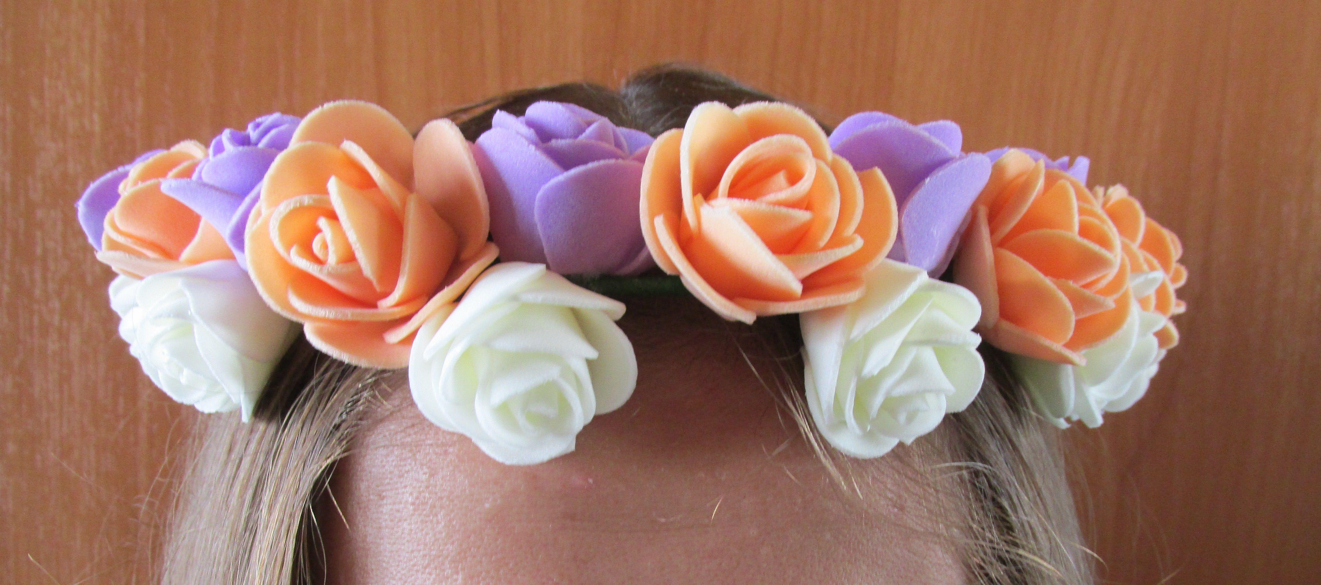 женщина венок цветы лето искусственные украшение ободок голова заказ