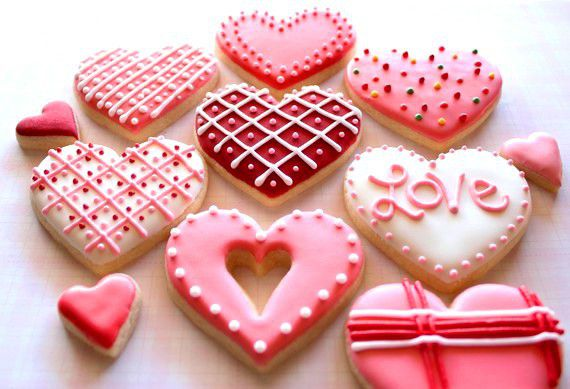 деньсвятоговалентина кулинария сладости печенье