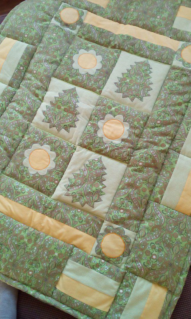 лоскутное детское пэчворк ручная шитье покрывало работа коврик