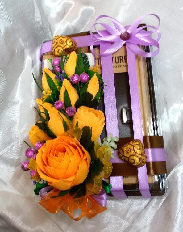 деньрождениявкусный подарокдевушкецветыконфеты