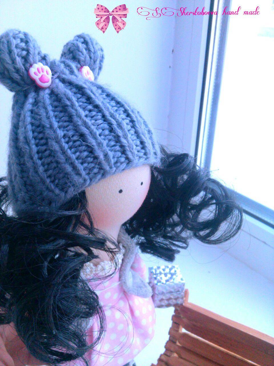 интерьерная кукла hand ручной работы made