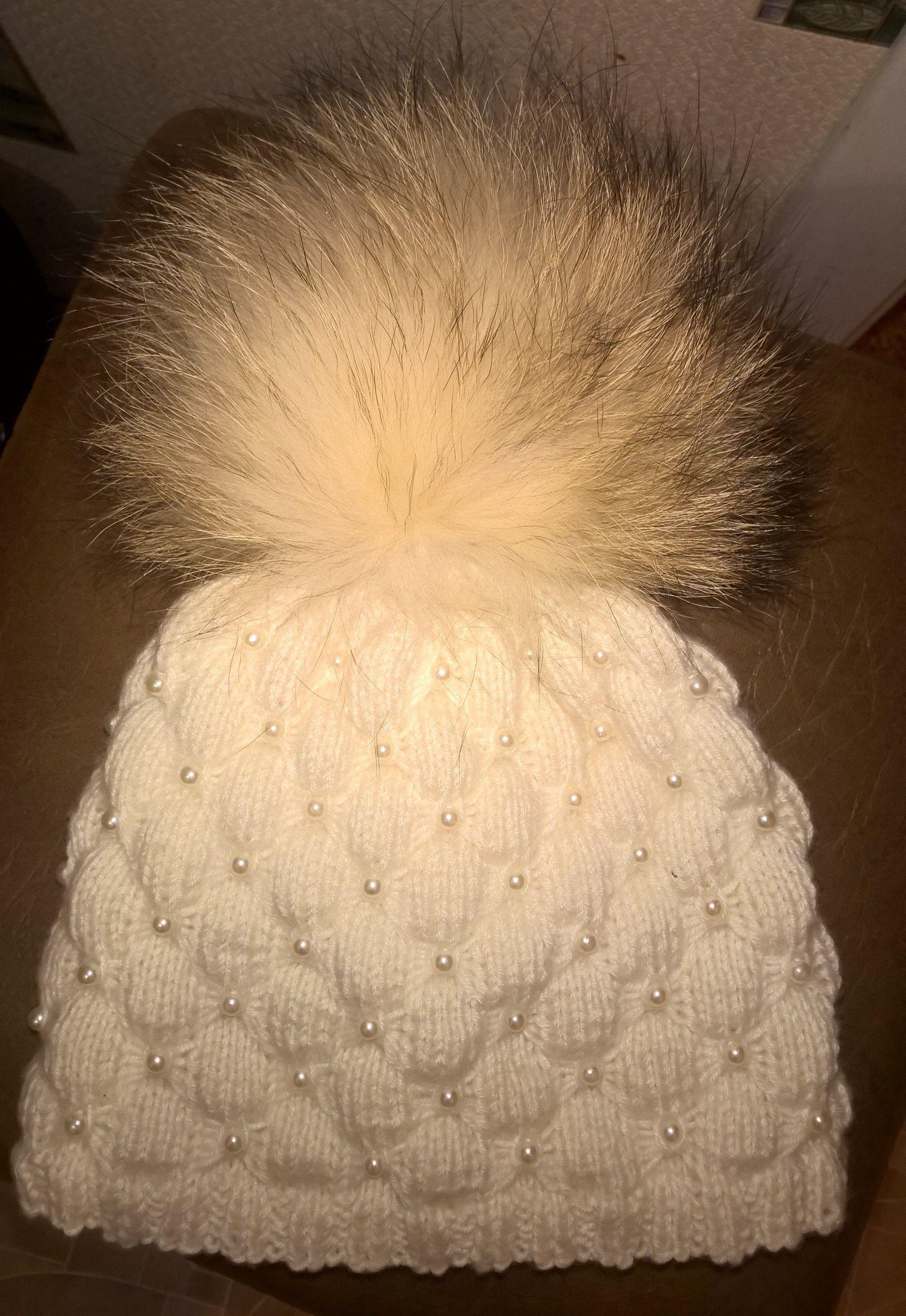 шапка дети вязанная одежда