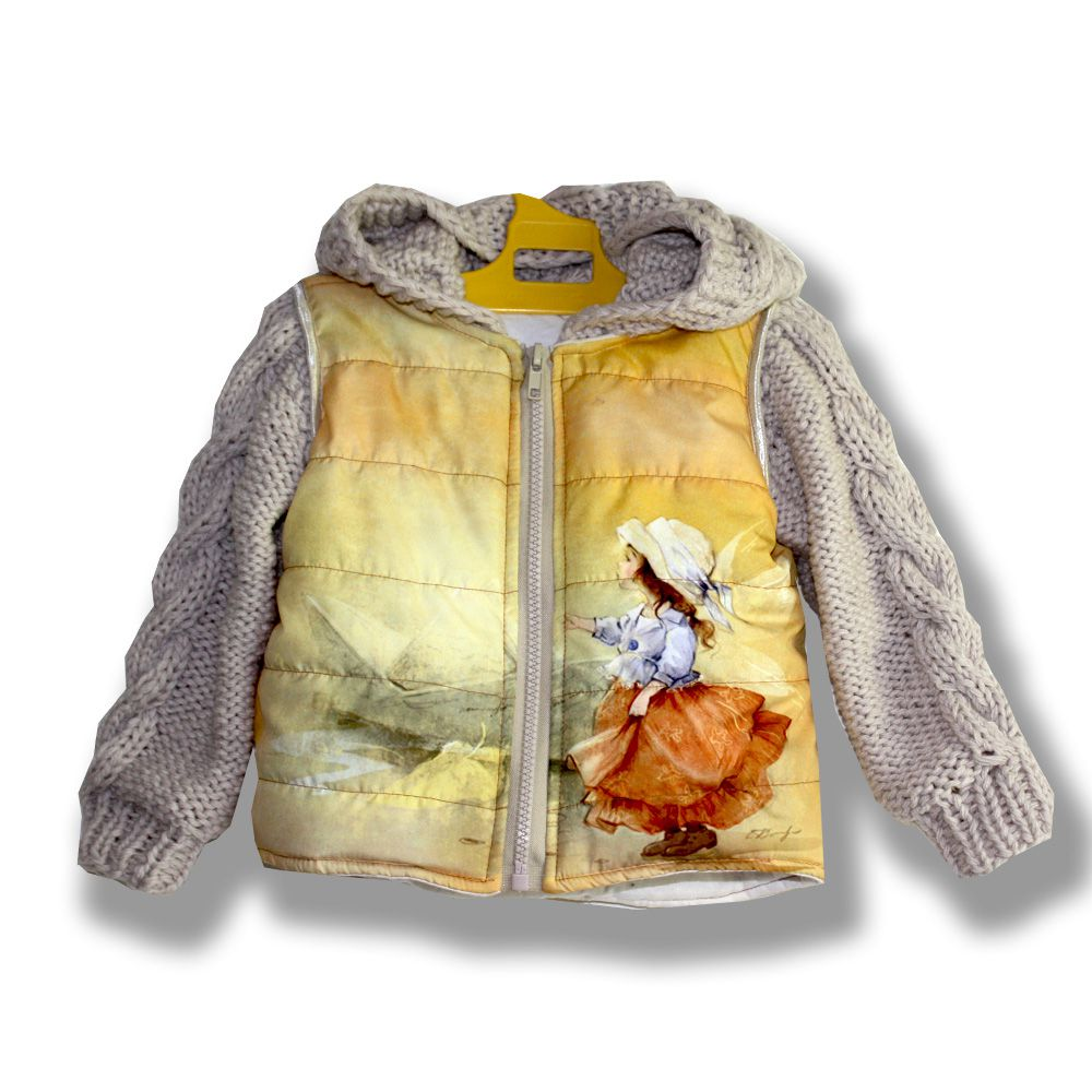 оливковая книга феи стильная комбинированный бежевая жилет фотопринт нежная лампа куртка безрукавка модная жилетка кораблик принт желтая фея девочке сублимация