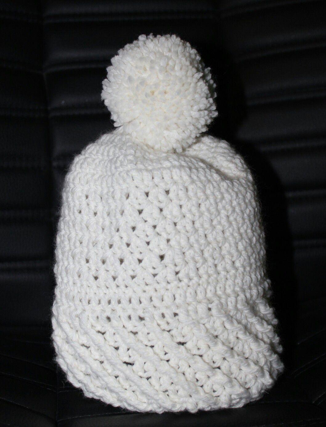 вязание шапка