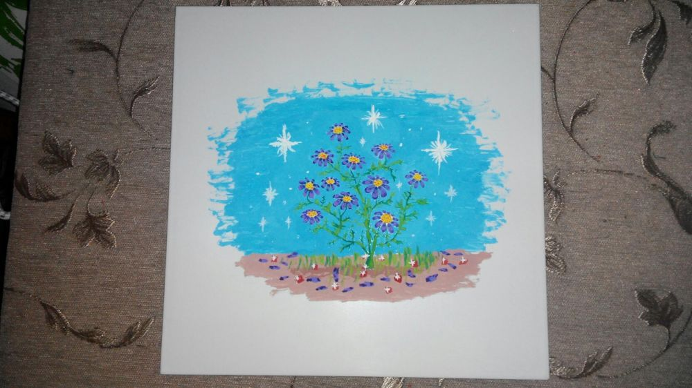 маслом картина рисунок плетка гуашью керамика