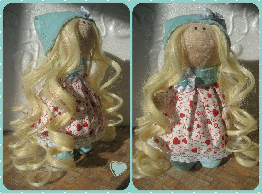ручнаяработа dolls игрушка кукла новыйгод интерьер малышка handmade подарок интерьернаякукла дети