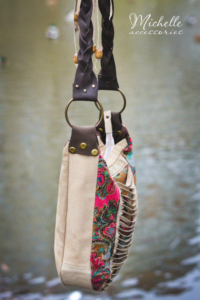 кожаная купитьподарок купитьсумку бохостиль замша сумка ручная авторская купить женская работа бохо кожа подарок