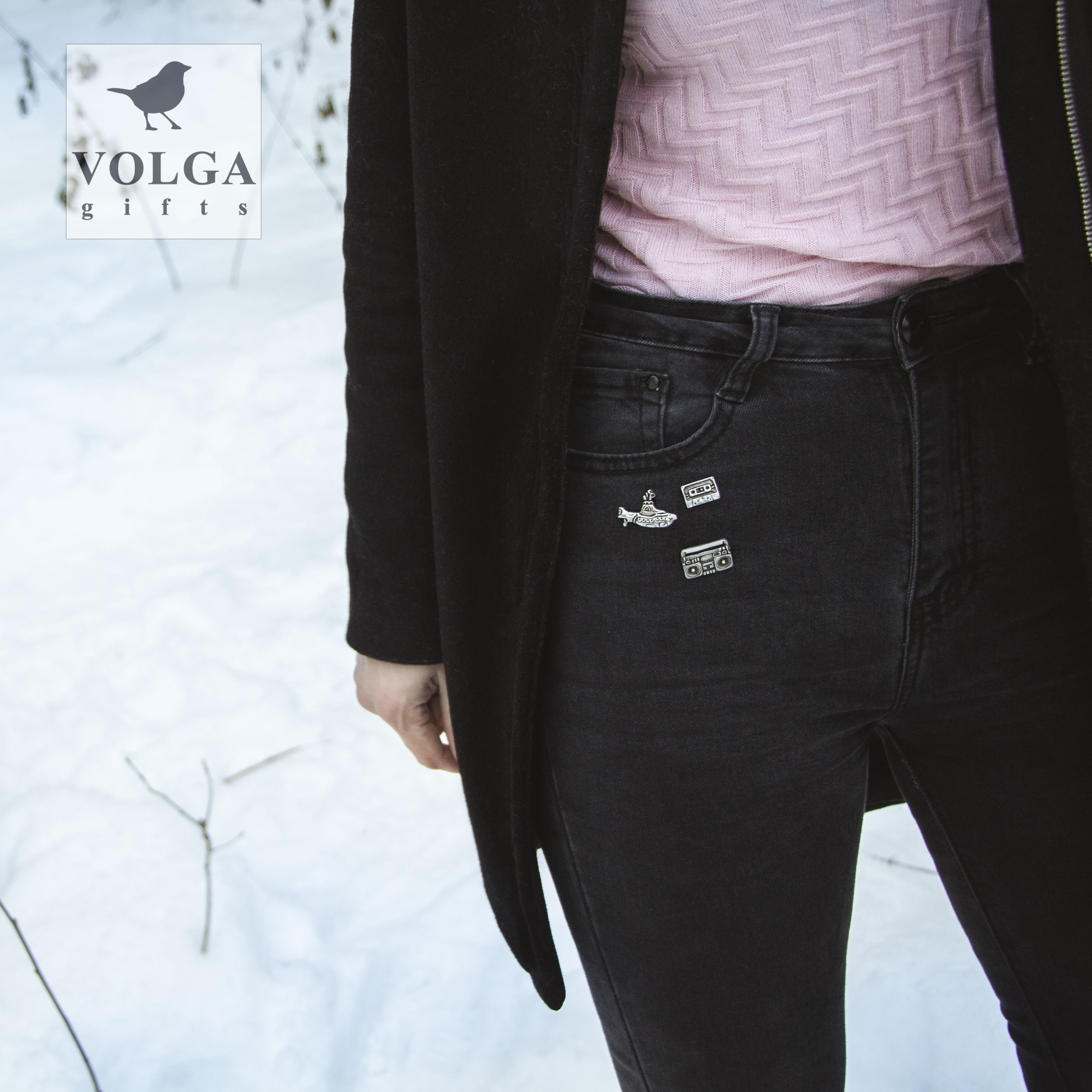 женщин заказ на стиль значок молодежный ретро бабочка замок аудио плеер магнитофон для аксессуары 90е меломан лацкан серебряный значки нательный мужчин старый музыка попарт бижутерия