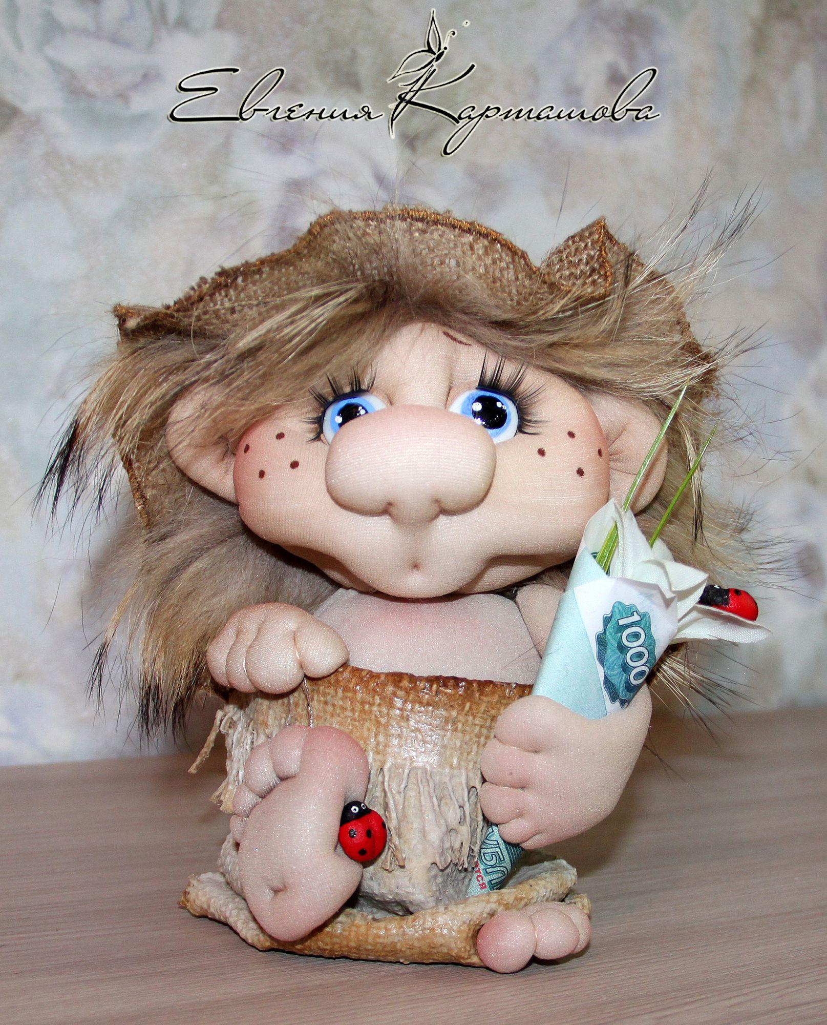 скульптурный из подарок кукла работа ручная текстиль капрона шитье