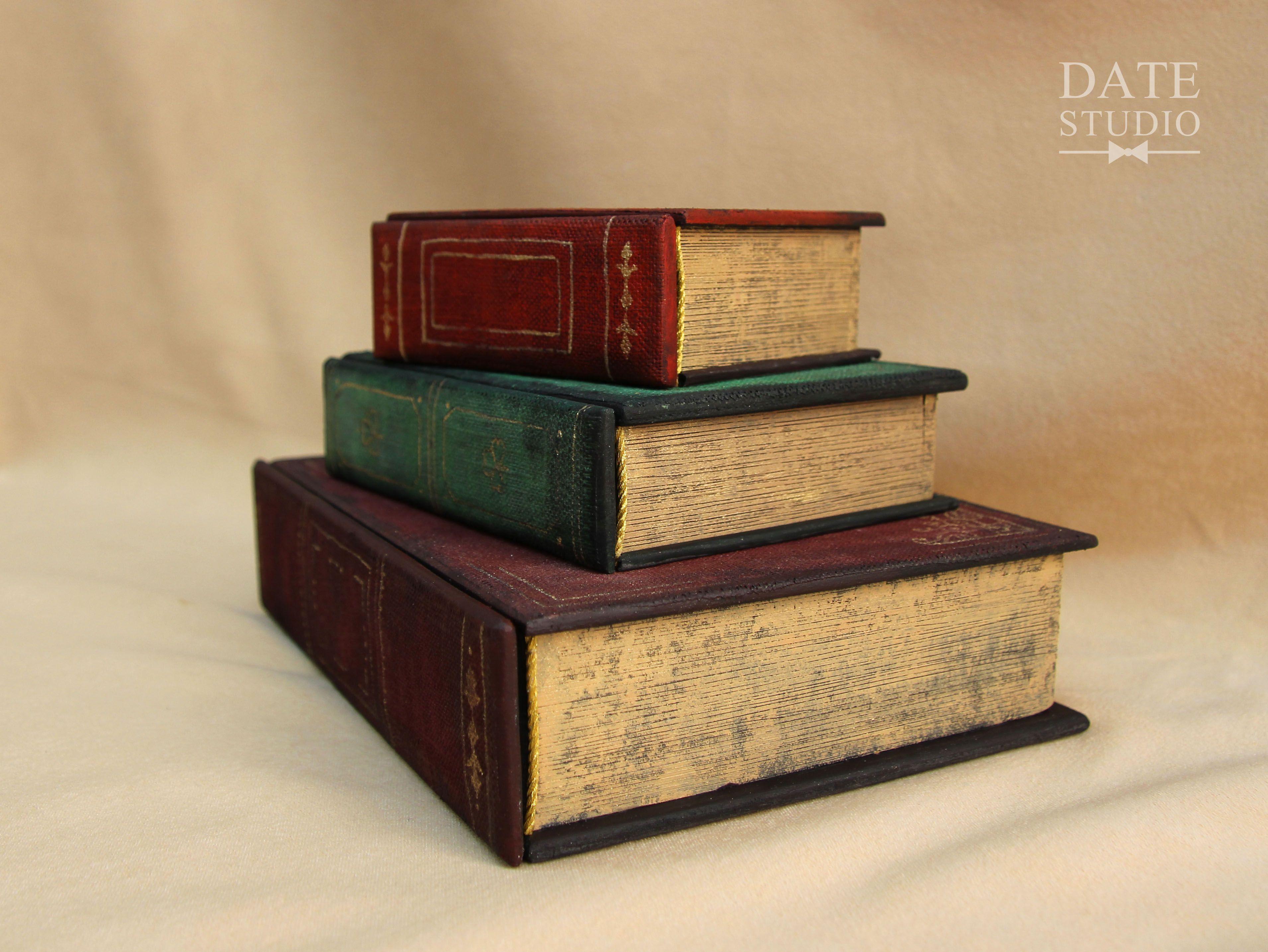 старина мужчине женщине подарок книги шкатулка тайник бижутерия