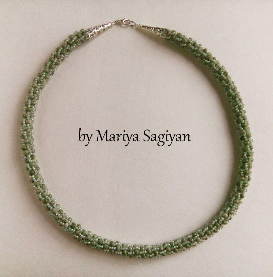 вязаный подарок жгут украшение для женщицны турецкий девушки бижутерия зеленый