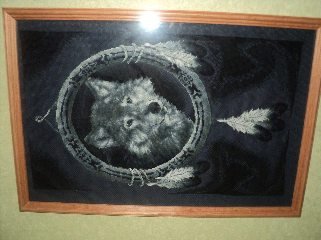 снов крестом вышивка для сны ловушка волки