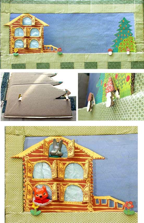 Декорации к кукольному театру своими рук 98
