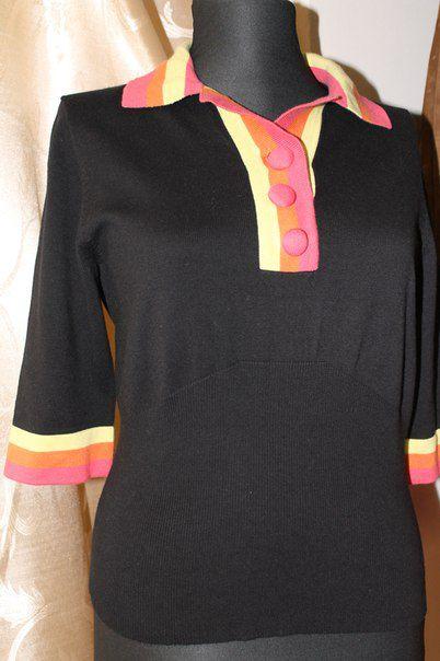 винтаж old retro vintage ретро блузка яркость