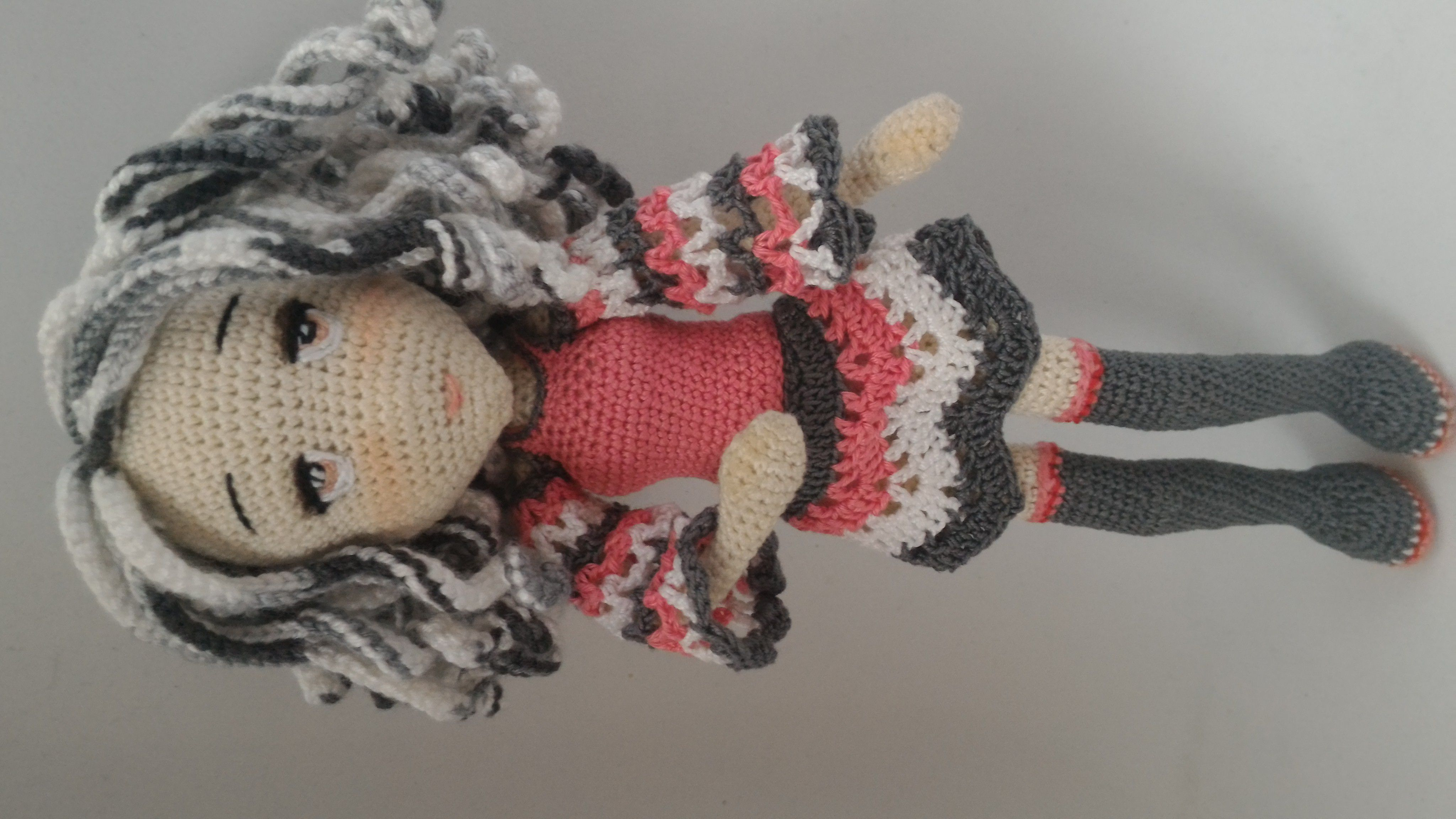 подарок кукла амигуруми связанная каркасная семинарами крючком