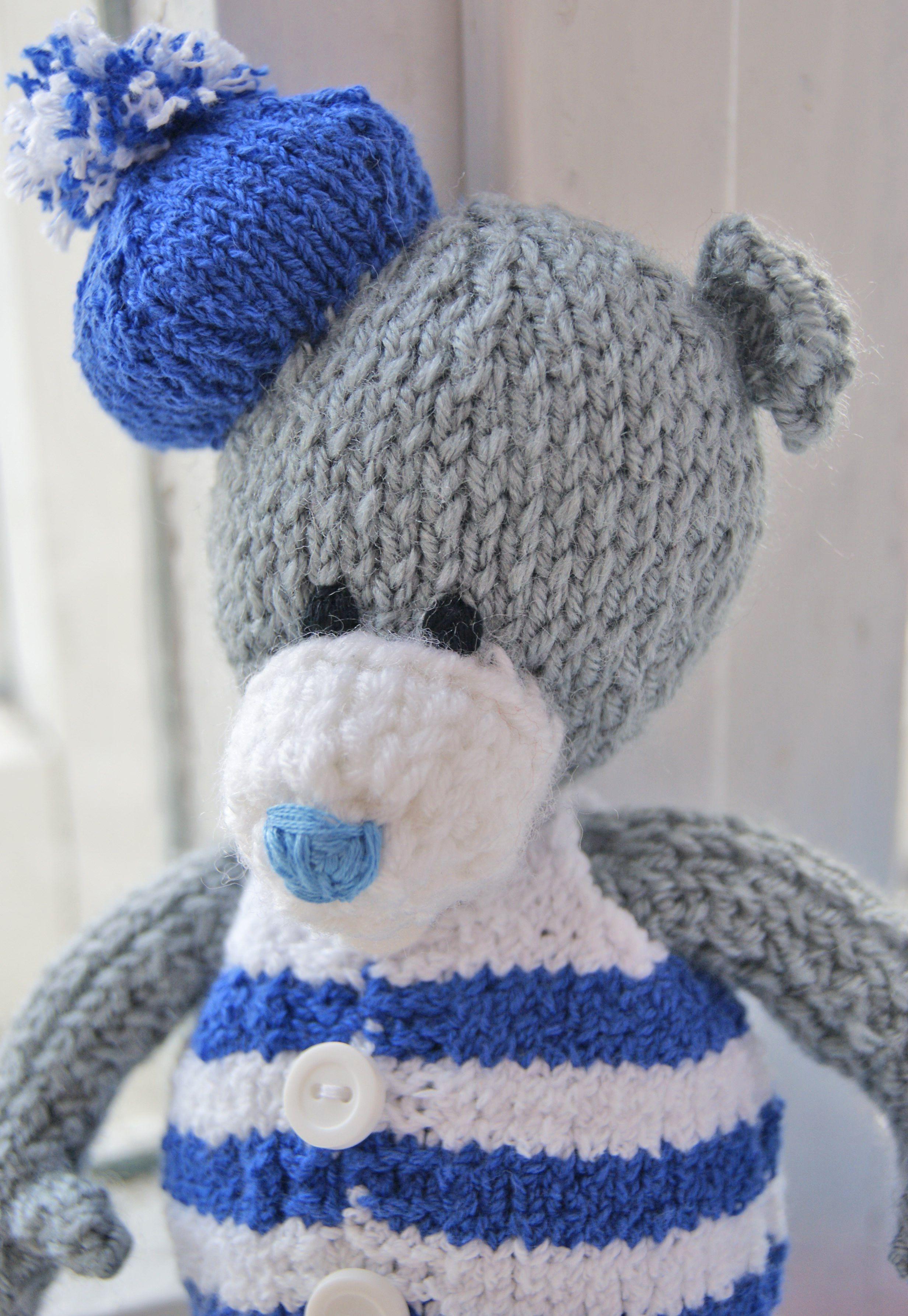 медведь мишка игрушка вязание уют интерьернаяигрушка тепло моряк вяжуназаказ детям море тедди вяжутнетолькобабушки подарок вязаниеназаказ