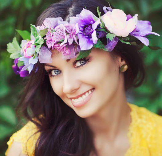 мастеркласс украшения аксессуары венок цветы