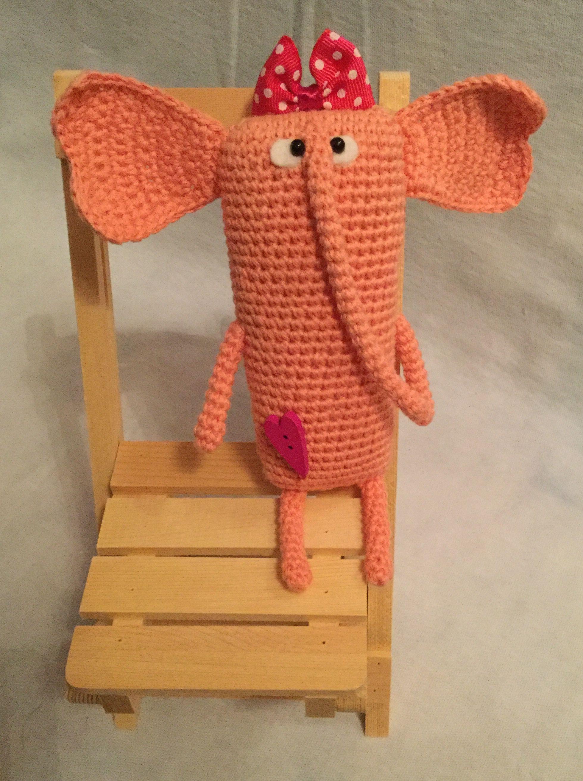 слоник игрушка ручнаяработа