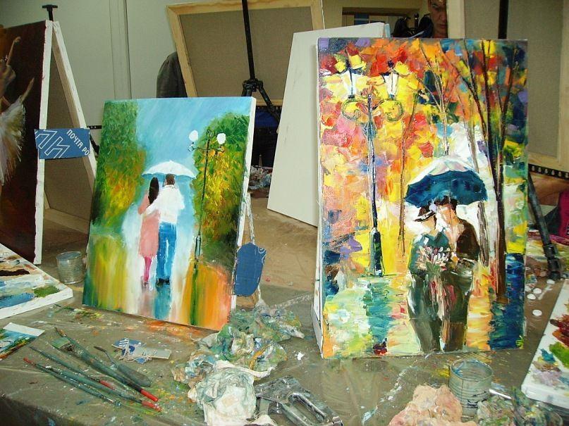 хендмейд обучение живопись