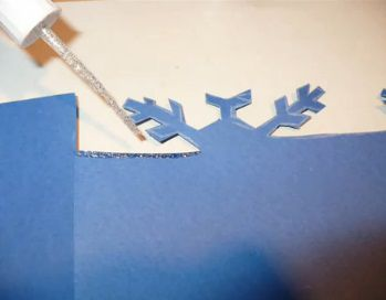 Рождественские открытки своими руками 8