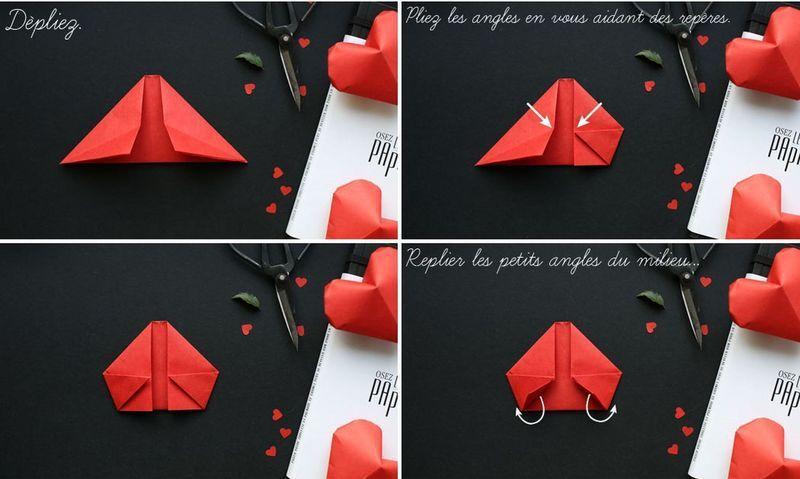 Сердечки из бумаги 10