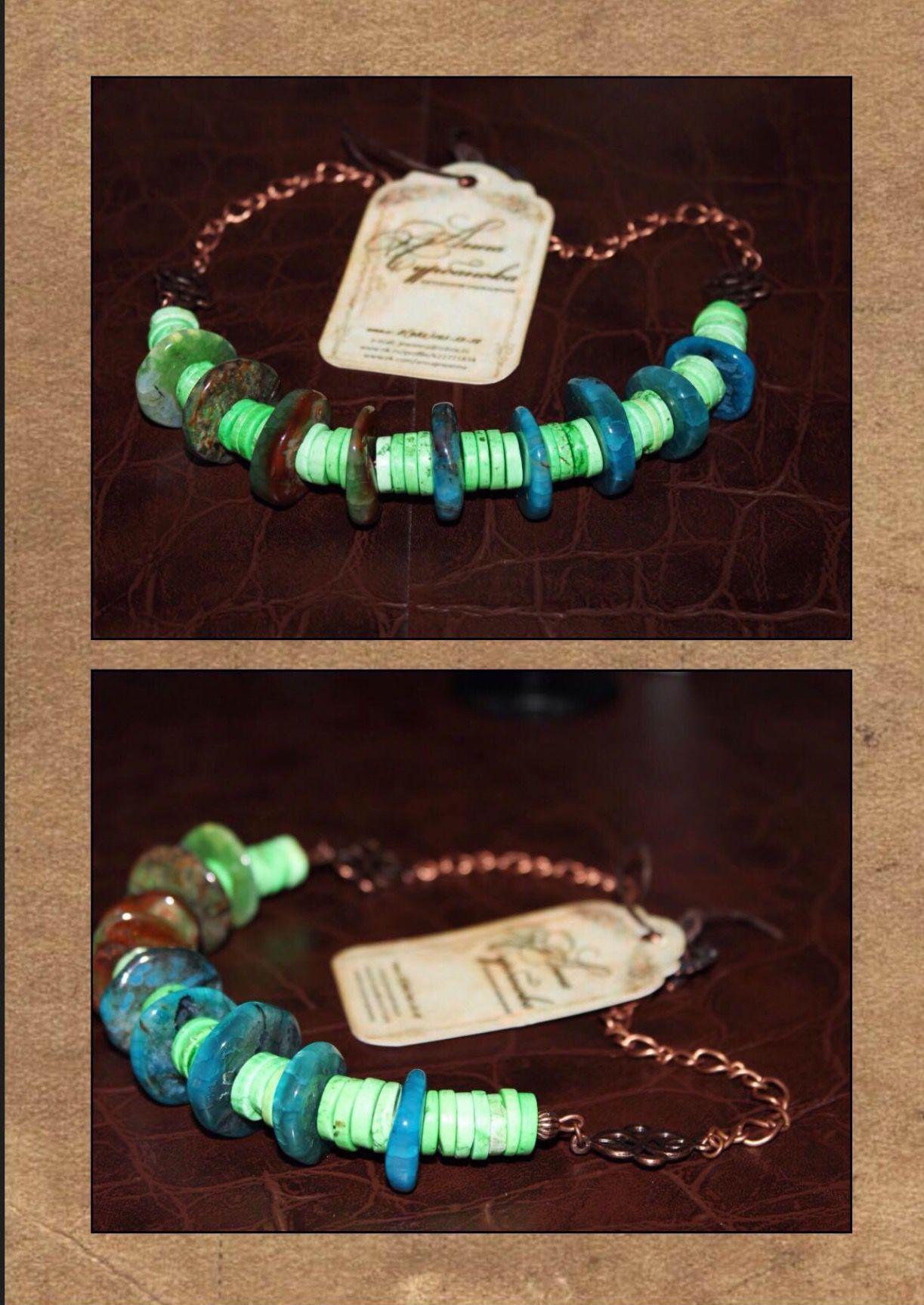 зеленое украшения подарки handmade агат ручнаяработа натуральныекамни