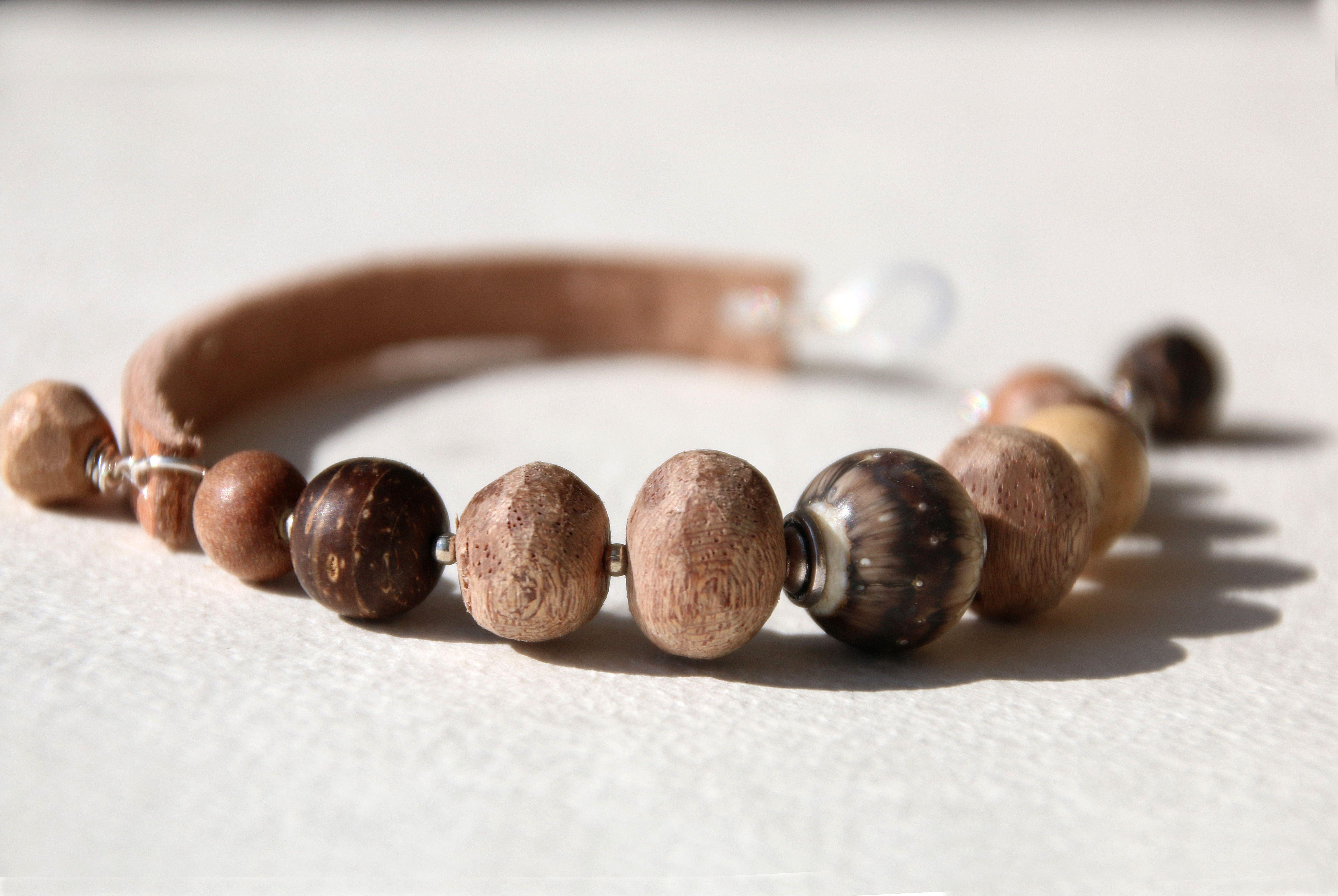 серебристый шоколад шоколадный экзотика браслет коричневый натуральные сливочный бохо молочный