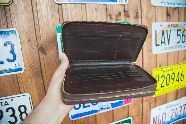 кожа кошелек портмоне кожаная визитница сумка натуральная клатч