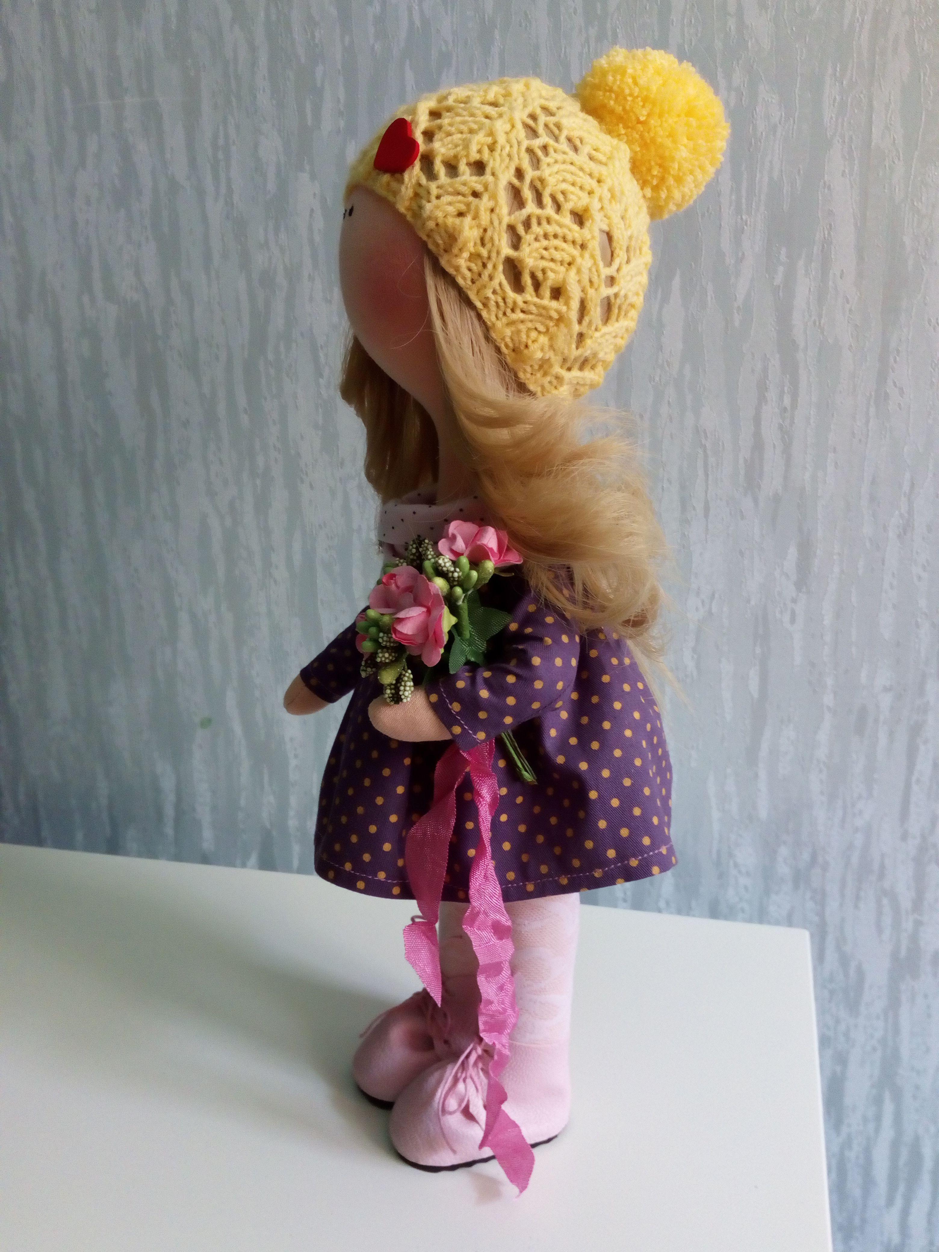 ручнаяработа куклаизткани кукла праздник