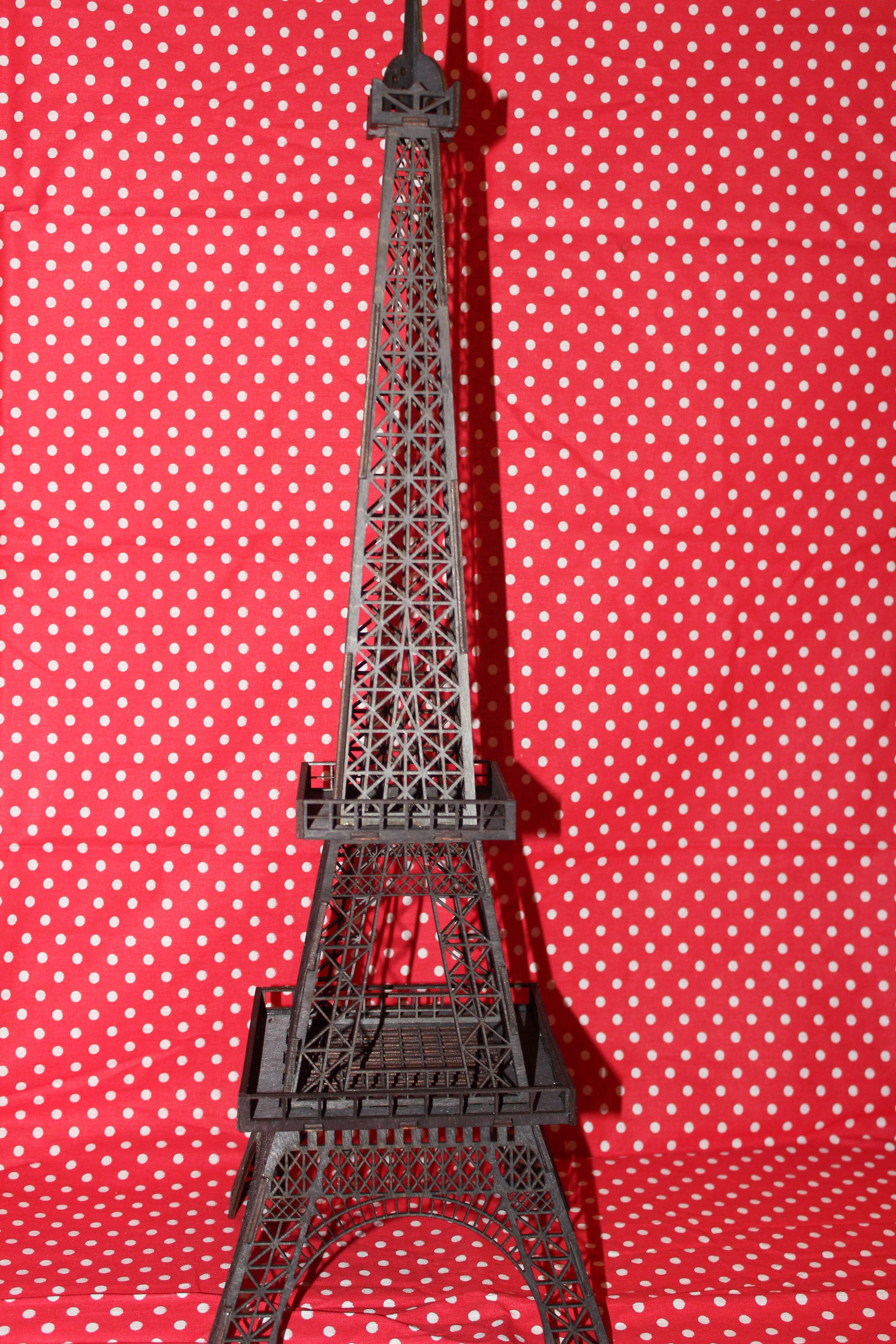 франция эйфелева башня сувенир фанера