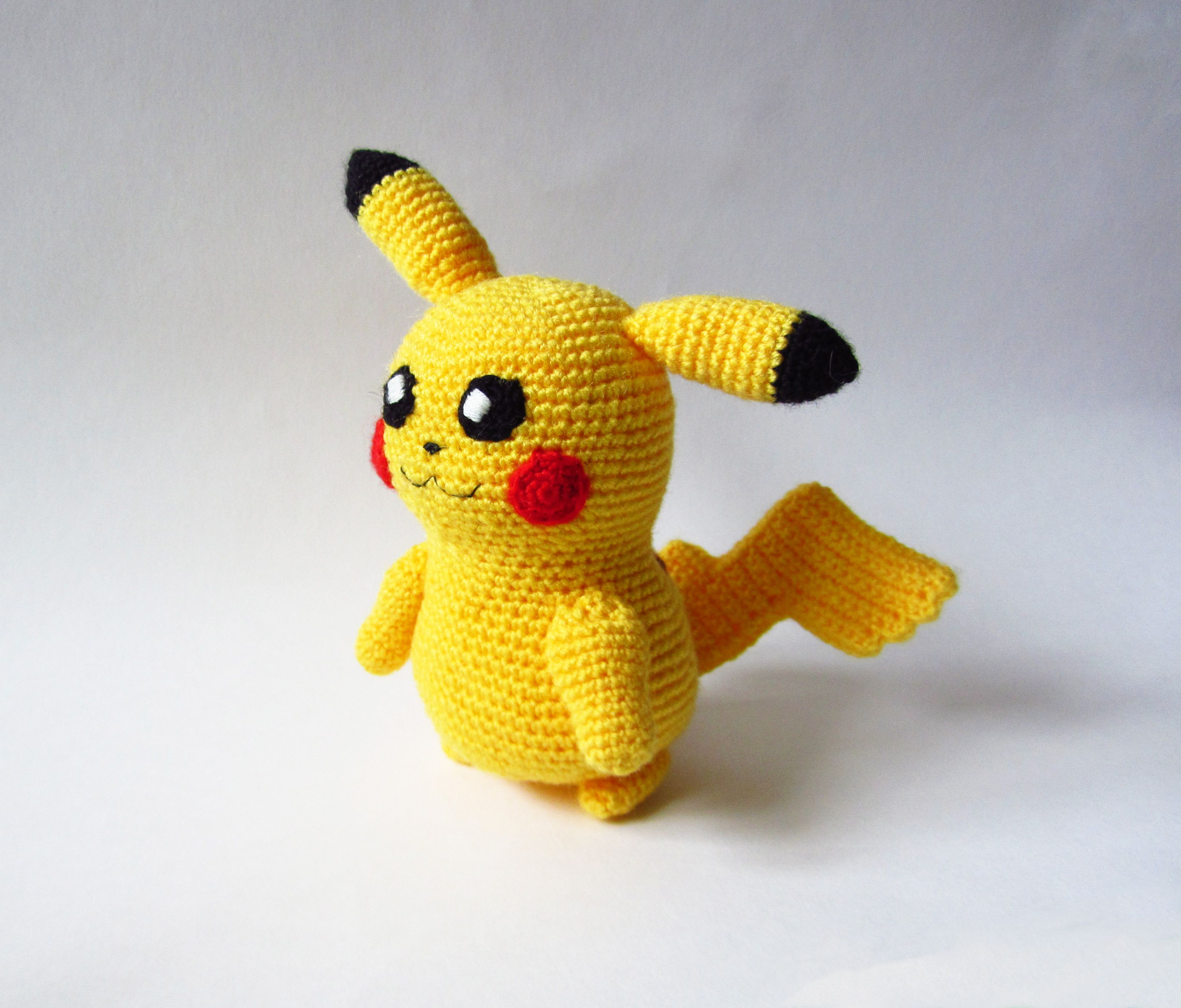 ручнаяработа пикачу игрушкавязаная pikachu pokemon покемон handmade аниме