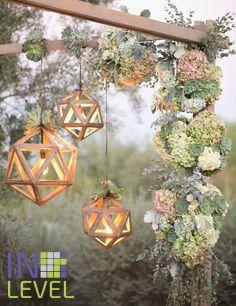 оригинальный сосна дерево декор абажур светильник свет уют