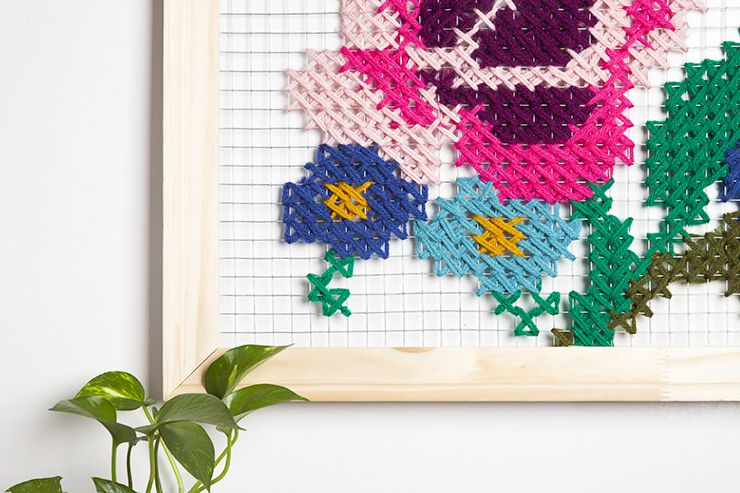 дома крестиком вышивка подарки картины для поделки идеи руками своими сделай сам