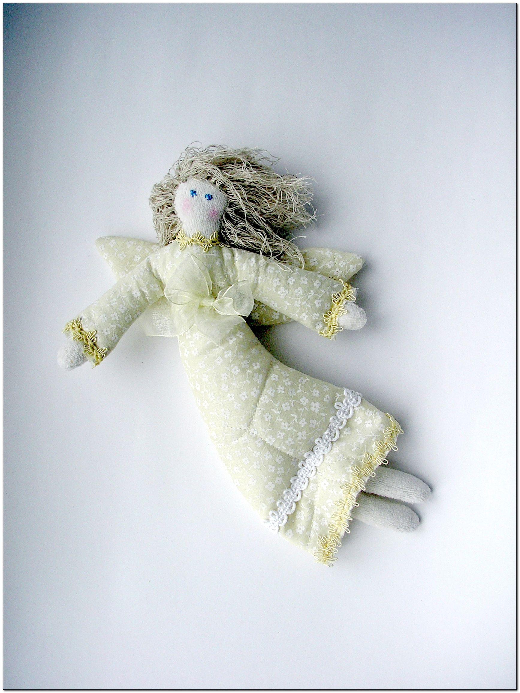 работы ангел игрушка ручной