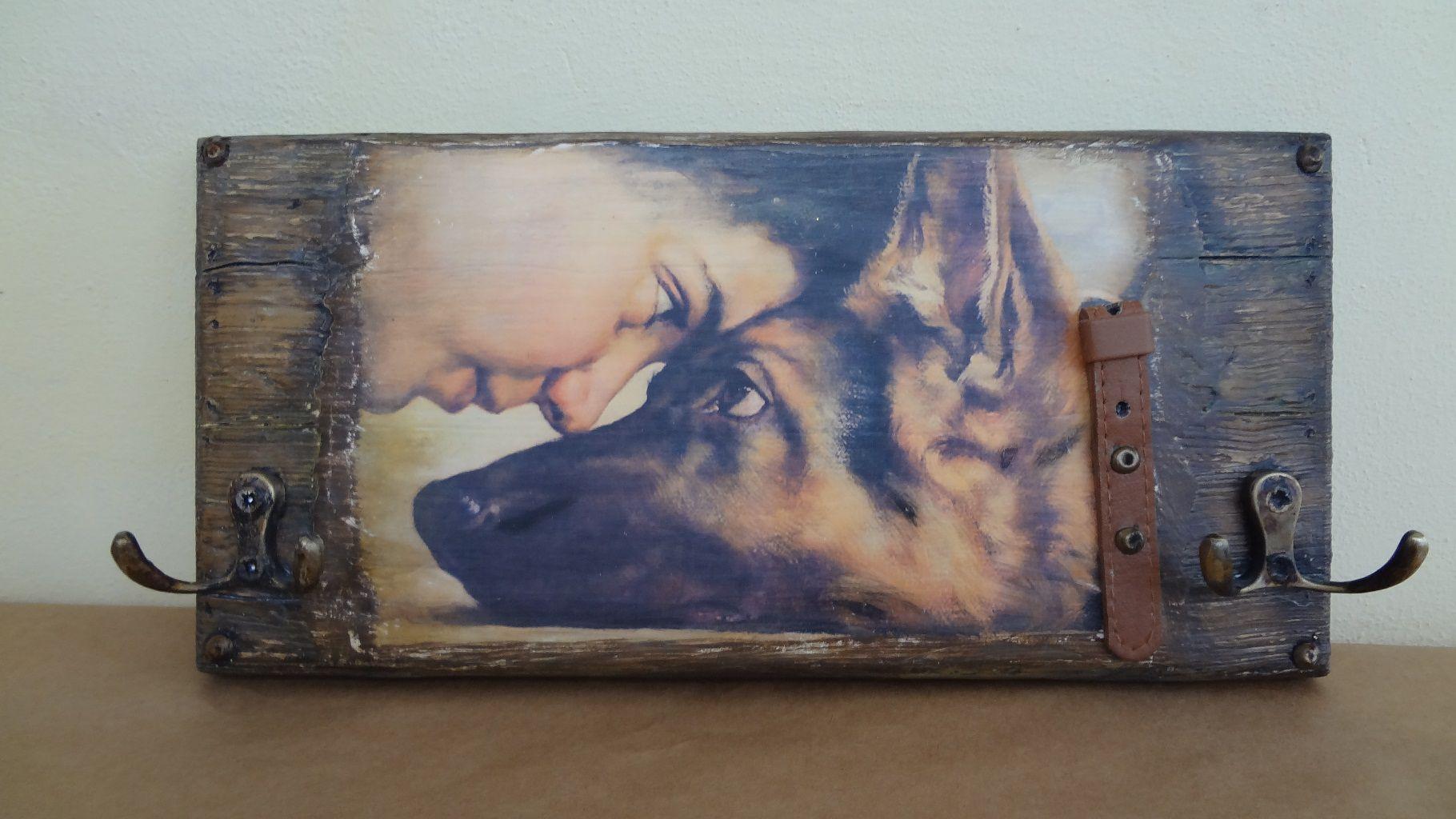 старое старинная подарок картина женщине мужчине дерево другу прихожая ключница