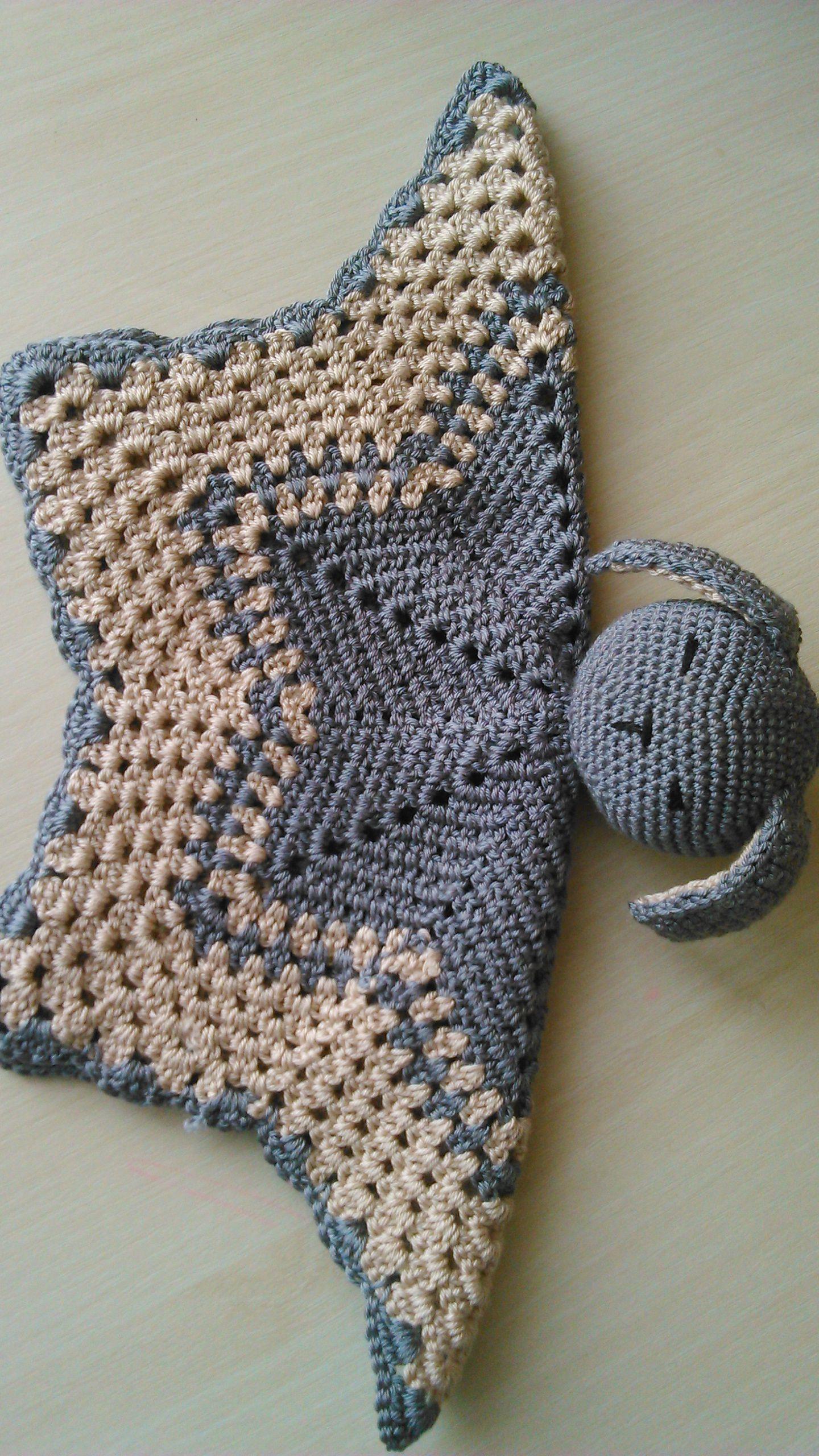 крючком работа детям игрушкасплюшка комфортер ручная вязание