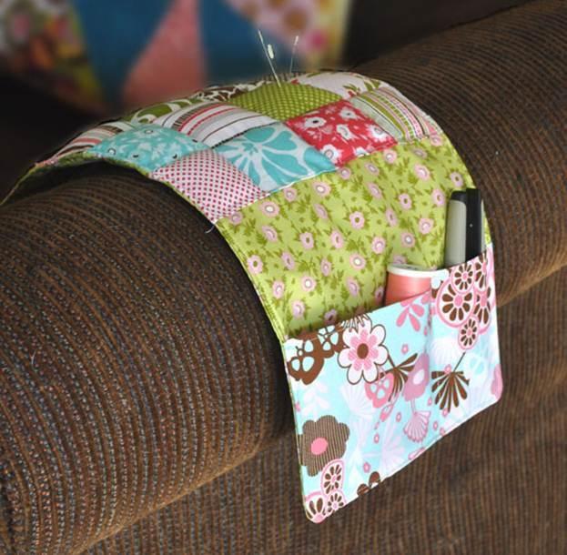 быт домашний ткань текстиль уютные мелочи мастеркласс органайзер дом