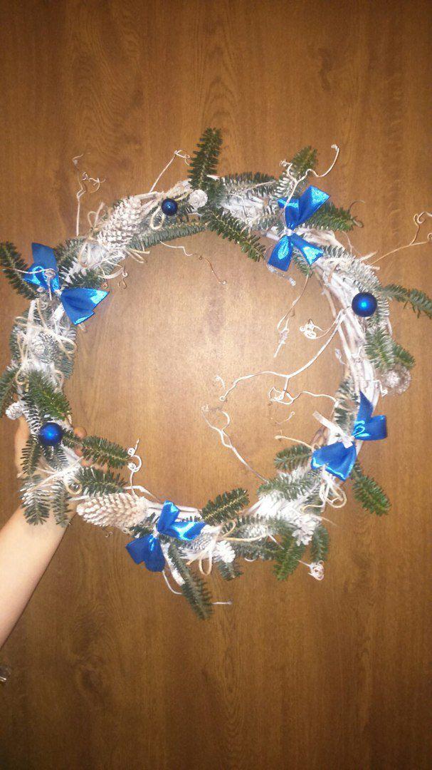 новый декор рождество венок год