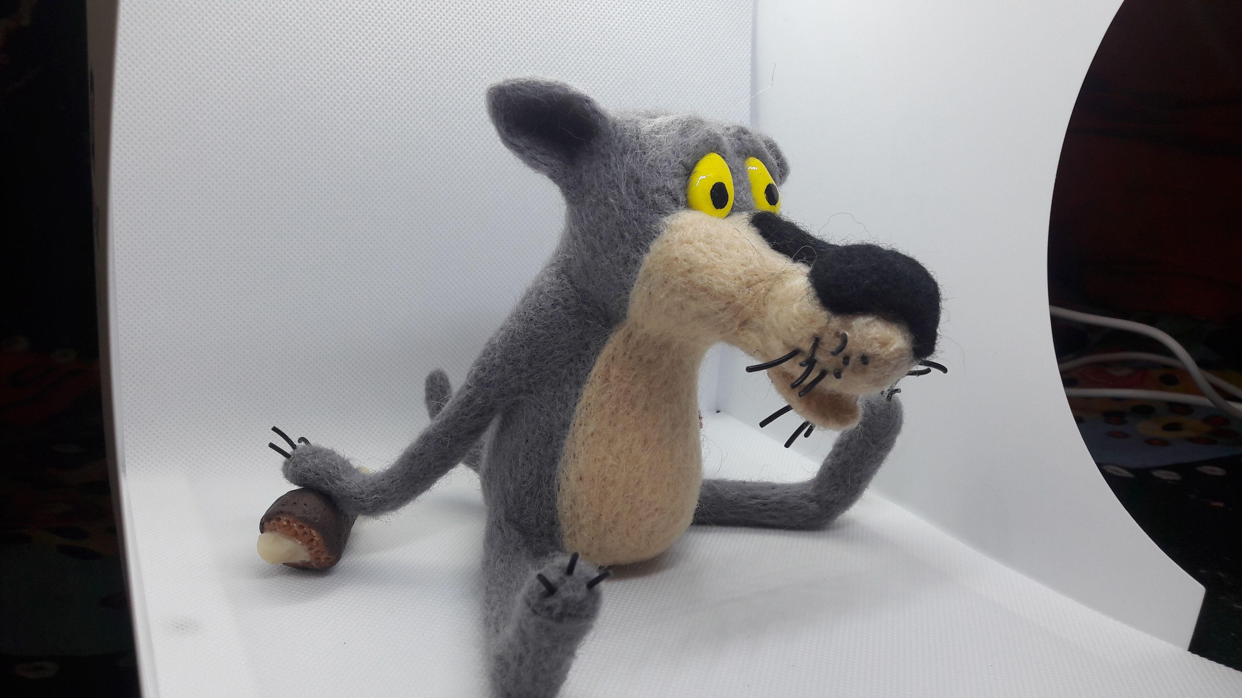 мультик войлок сухое игрушка валяние