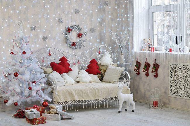 праздник интерьер дом декорирование новыйгод