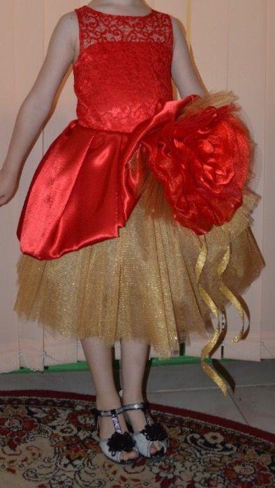 одежда платье шикарное девочка